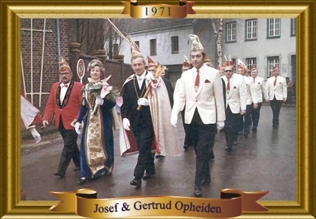 Josef III. & Gertrud I.